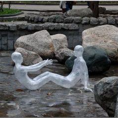 Уличное искусство Марка Дженкинса (Mark Jenkins)