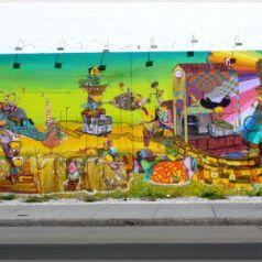 Street-арт по-бразильски — работы дуэта Os Gemeos