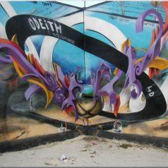 Odeith, таинственный «бэнкси», уличный художник из Бристоля