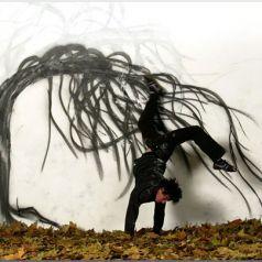 Растворяя границы — креативный Street art Робина Рода (Robin Rhode)