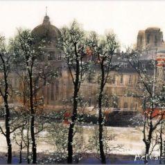 Акварельная живопись от Лю Маошана