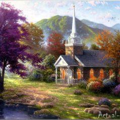 Праздник Света от Томаса Кинкейда (Thomas Kinkade)