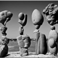 Michael Grab о каменном равновесии