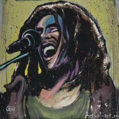 David Garibaldi вносит ритм и тон в настенную живопись