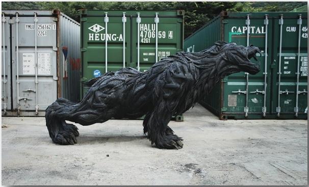 Скульптурные мутации Йонг Хо Цзи