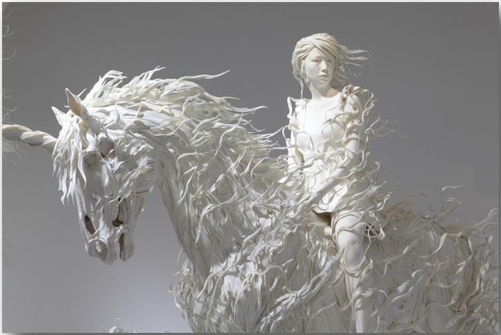 Философская скульптура Мотохико Одани