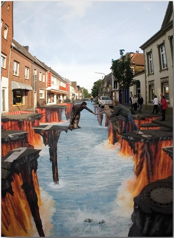 Эдгар Мюллер (Edgar Mueller)_3D_Street-art_13