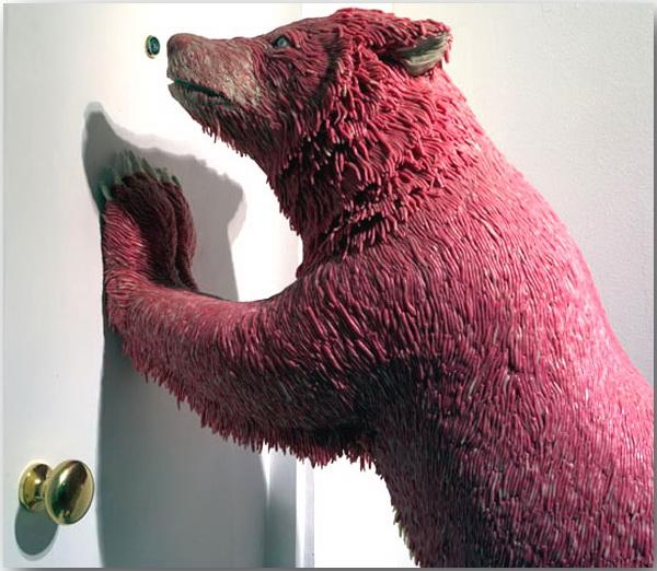 «Жевательные» шедевры художника Мауризио Савини (Maurizio Savini)