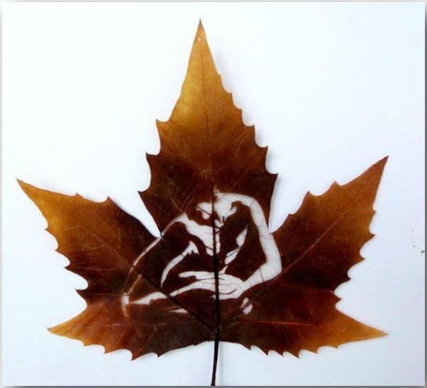Резьба по листьям (Leaf Carving Art)_02