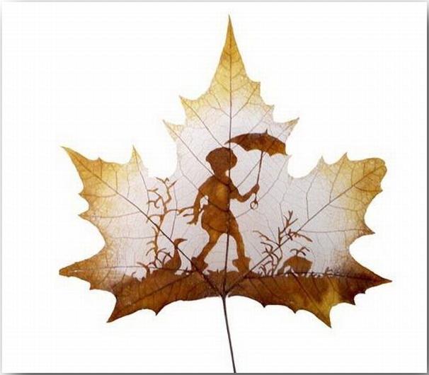 Резьба по листьям (Leaf Carving Art)_06