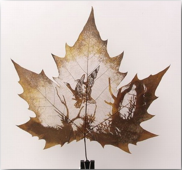 Резьба по листьям (Leaf Carving Art)_07