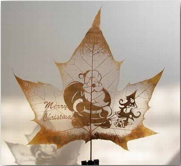 Резьба по листьям (Leaf Carving Art)_09