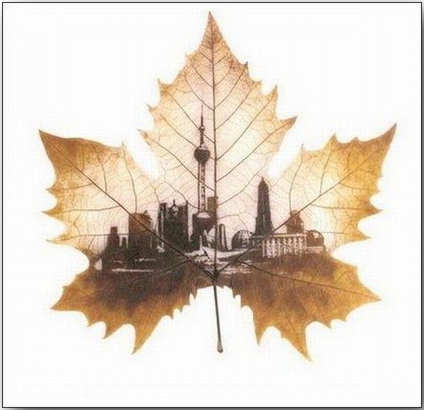 Резьба по листьям (Leaf Carving Art)_10