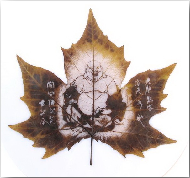 Резьба по листьям (Leaf Carving Art)_11