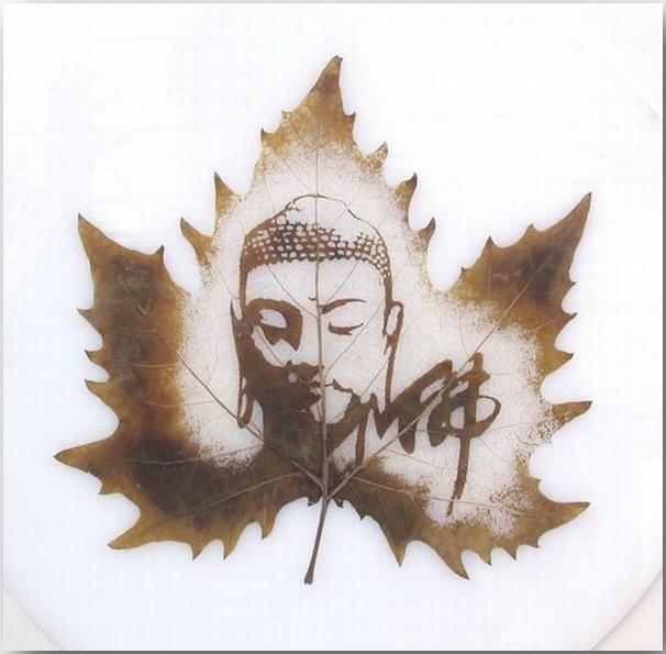 Резьба по листьям (Leaf Carving Art)_13