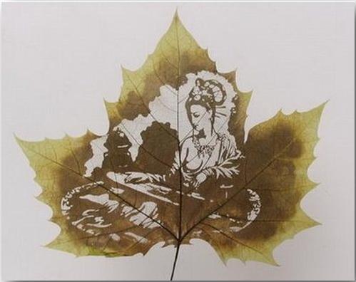 Резьба по листьям (Leaf Carving Art)_15