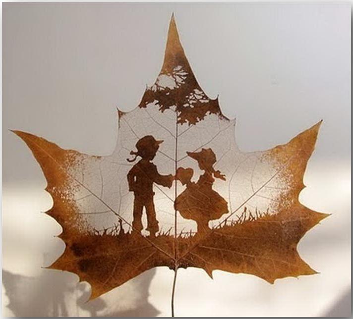 Резьба по листьям (Leaf Carving Art)_19