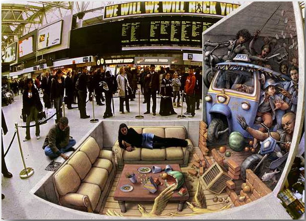 Курт Веннер (Kurt Wenner)_street-art_08