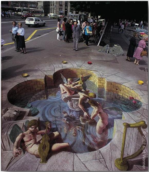 Курт Веннер (Kurt Wenner)_street-art_23