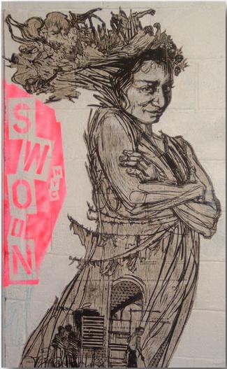 Caledonia Dance Curry (Swoon)_street-art_18