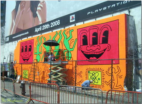 Кит Херинг (Keith Haring)_Street-art_01