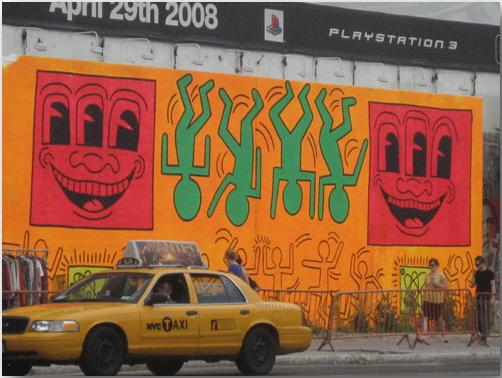 Кит Херинг (Keith Haring)_Street-art_02