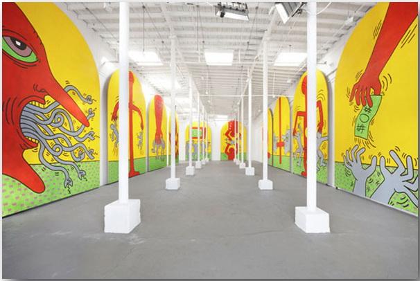 Кит Херинг (Keith Haring)_Street-art_05