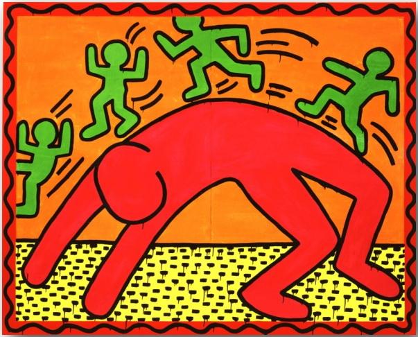 Кит Херинг (Keith Haring)_Street-art_08