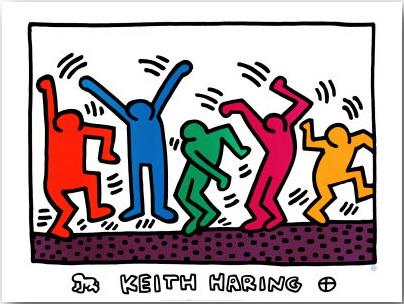 Кит Херинг (Keith Haring)_Street-art_09
