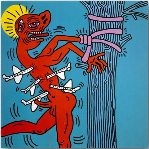 Кит Херинг (Keith Haring)_Street-art_14