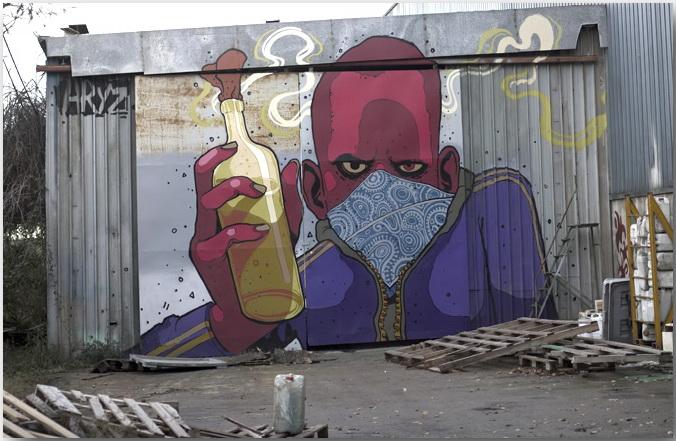 Aryz и его великолепное граффити, покоряющее Европу.