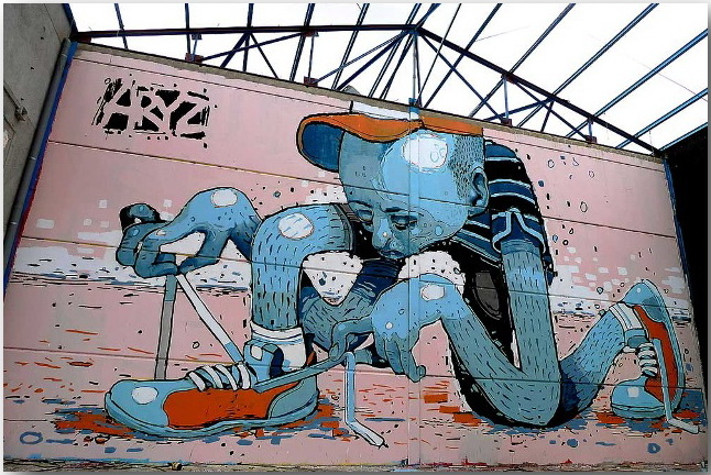 Aryz_Street Art_12