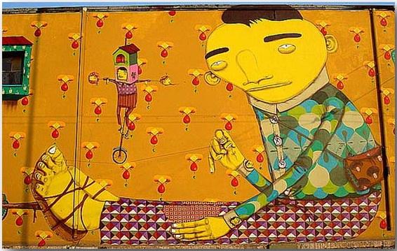 Otavio и Gustavo Pandolfo_Os Gemeos_street-art_04