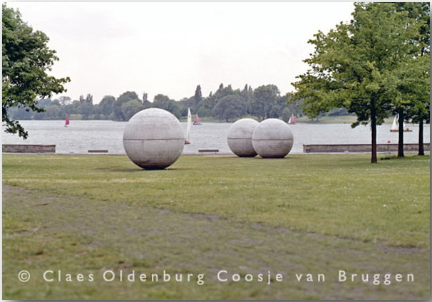 Клас Ольденбург (Claes Oldenburg)_sculptures_11