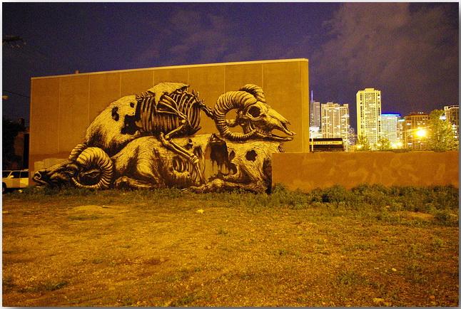 Дикие животные уличного художника Роа (Roa)_street-art_03