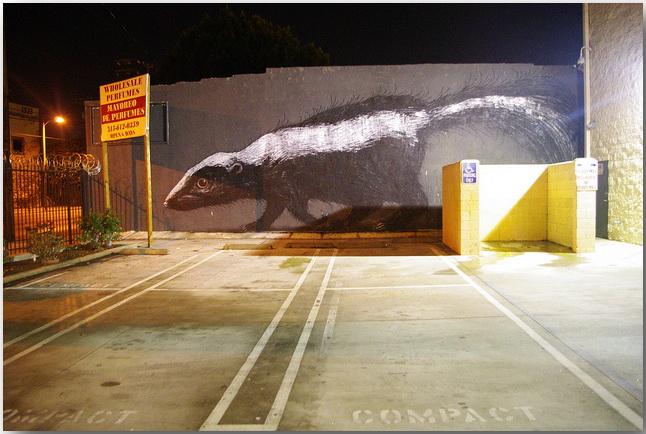 Дикие животные уличного художника Роа (Roa)_street-art_04