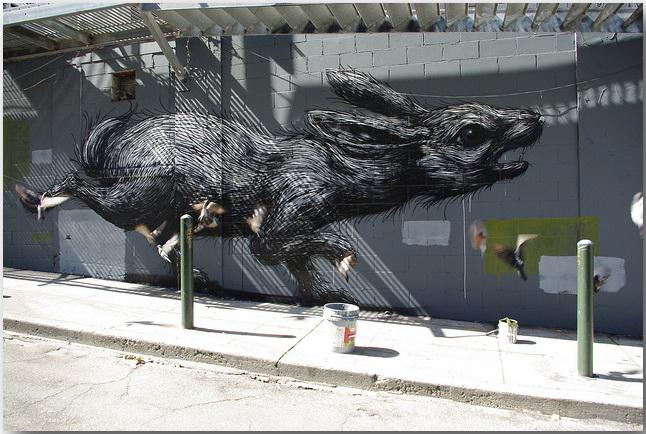 Дикие животные уличного художника Роа (Roa)_street-art_08
