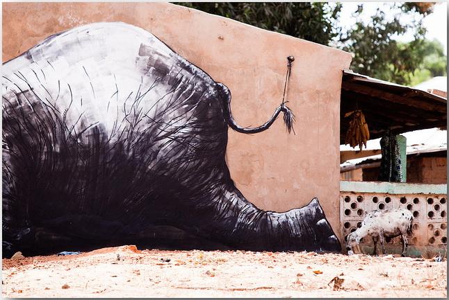 Дикие животные уличного художника Роа (Roa)_street-art_15