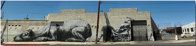 Дикие животные уличного художника Роа (Roa)_street-art_16