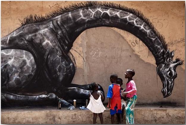 Дикие животные уличного художника Роа (Roa)_street-art_20