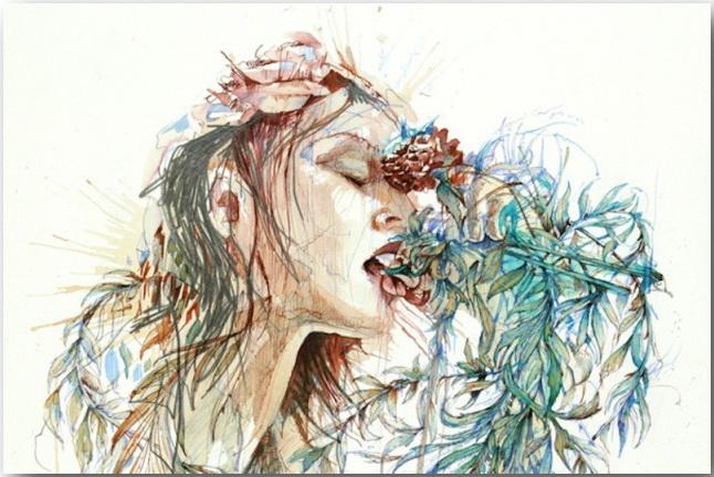 Карне Гриффитс (Carne Griffiths)_Искусство с ароматом чая_art_01