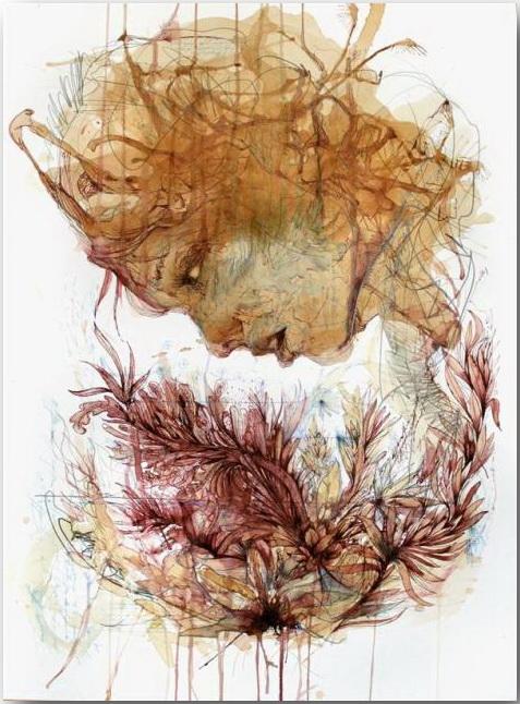 Карне Гриффитс (Carne Griffiths)_Искусство с ароматом чая_art_14
