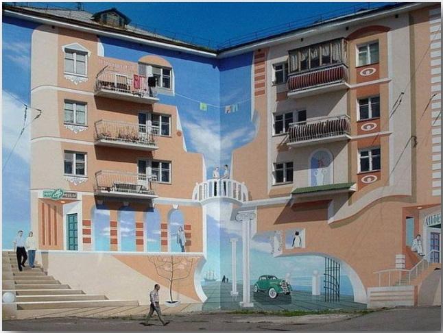 Джон Пью (John Pugh)_Street-art_Миражи на улицах мегаполисов_02