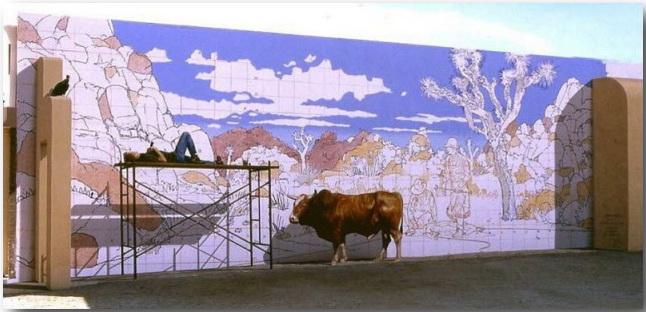 Джон Пью (John Pugh)_Street-art_Миражи на улицах мегаполисов_07