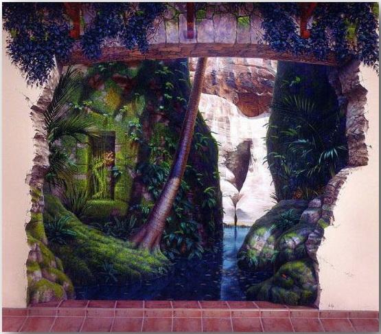 Джон Пью (John Pugh)_Street-art_Миражи на улицах мегаполисов_24