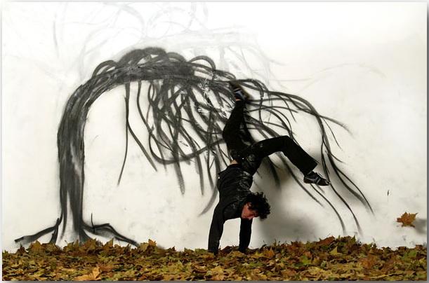 Storyteller_Робин Род (Robin Rhode)_Street art_01