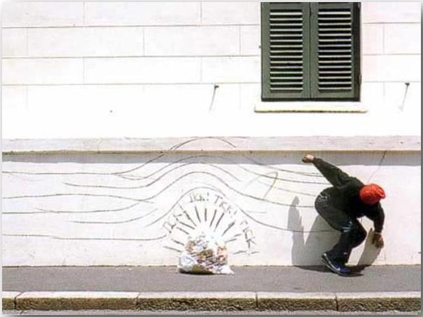 Бегство (Getaway)_Робин Род (Robin Rhode)_Street art_03