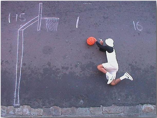 He Got Game_Робин Род (Robin Rhode)_Street art_23