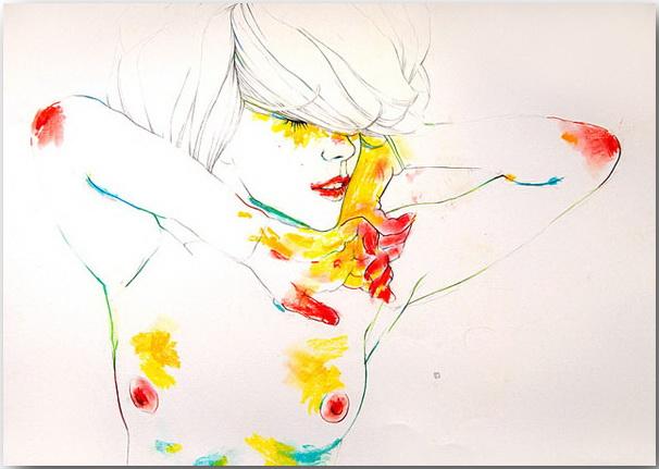 "Серия иллюстраций ""Muse""_Музы Конрада Розета (Conrad Roset)_art_03"