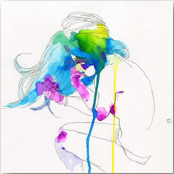 "Серия иллюстраций ""Muse""_Музы Конрада Розета (Conrad Roset)_art_10"